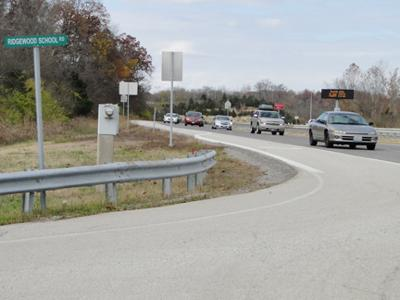 Ridgewood intersection