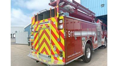 Cedar Hill Fire Protection District's 2017 Pierce pumper