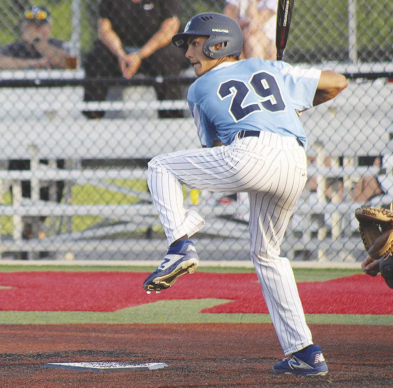 Jacob Cordevant, Blazers, batting.jpg