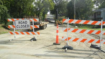 Cromwell Road in Festus has been closed since mid-July for a culvert replacement project.