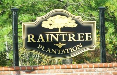 raintree plantation subdivision sign