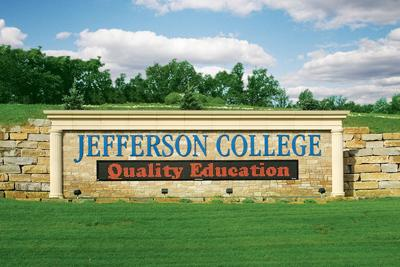 Jefferson College marquee