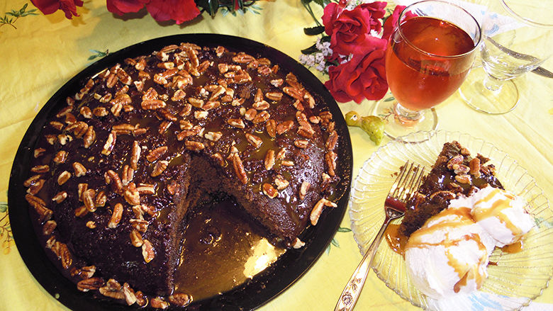 Fudge Skillet Cake