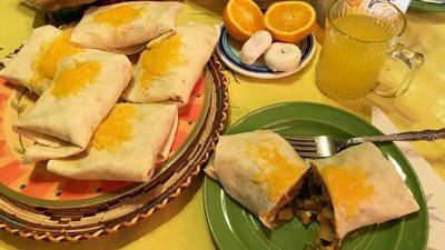 Breakfast Burrito Grande
