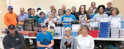Toys and More volunteers