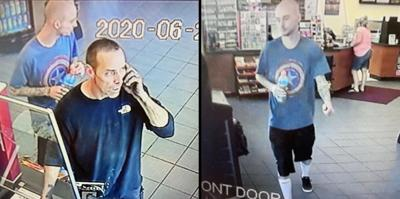The Sheriff's Office is trying to identify these two men captured on surveillance footage at a Festus-area gas station.