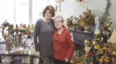 Judy Whittemore and Delores Tschudin