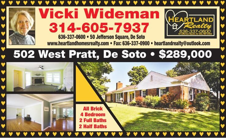 Heartland Realty Vicki Wideman RE July 2021