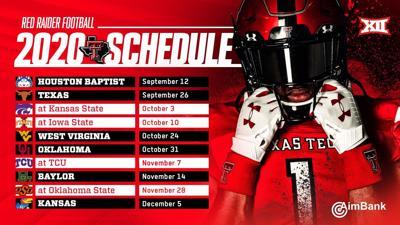 Texas Tech releases updated football schedule