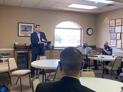 Congressman Jodey Arrington meets with law enforcement about new legislation