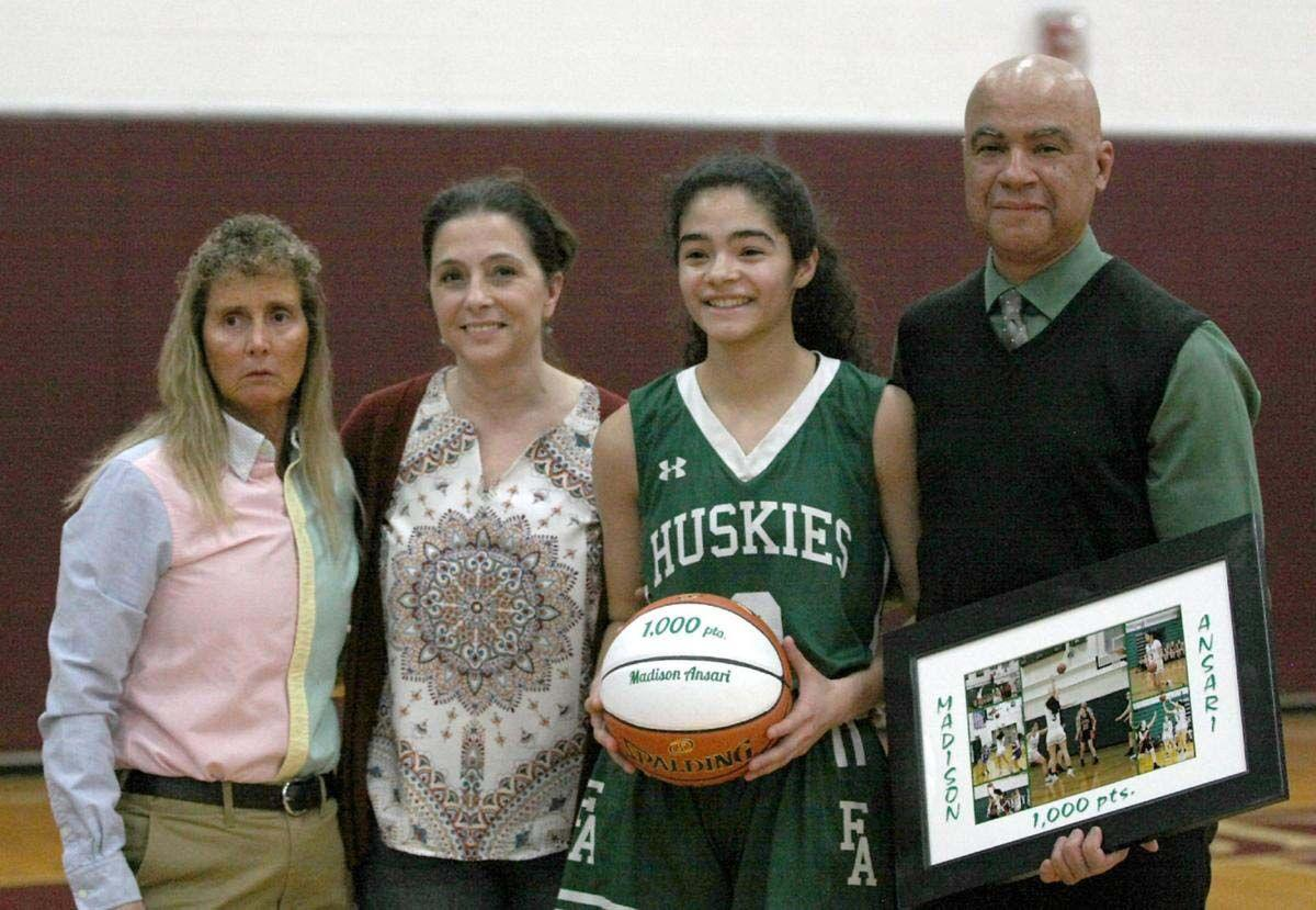 Madison Ansari 1,000 points