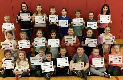 January students of the month at BMC