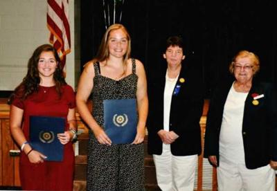 American Legion Auxiliary Post 219 hands out scholarships