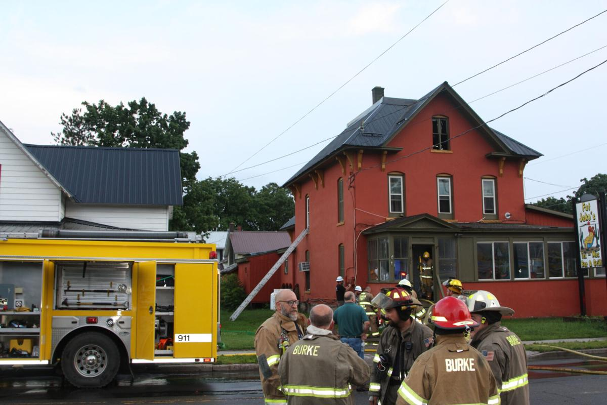 Fire crews called to Fat Jake's
