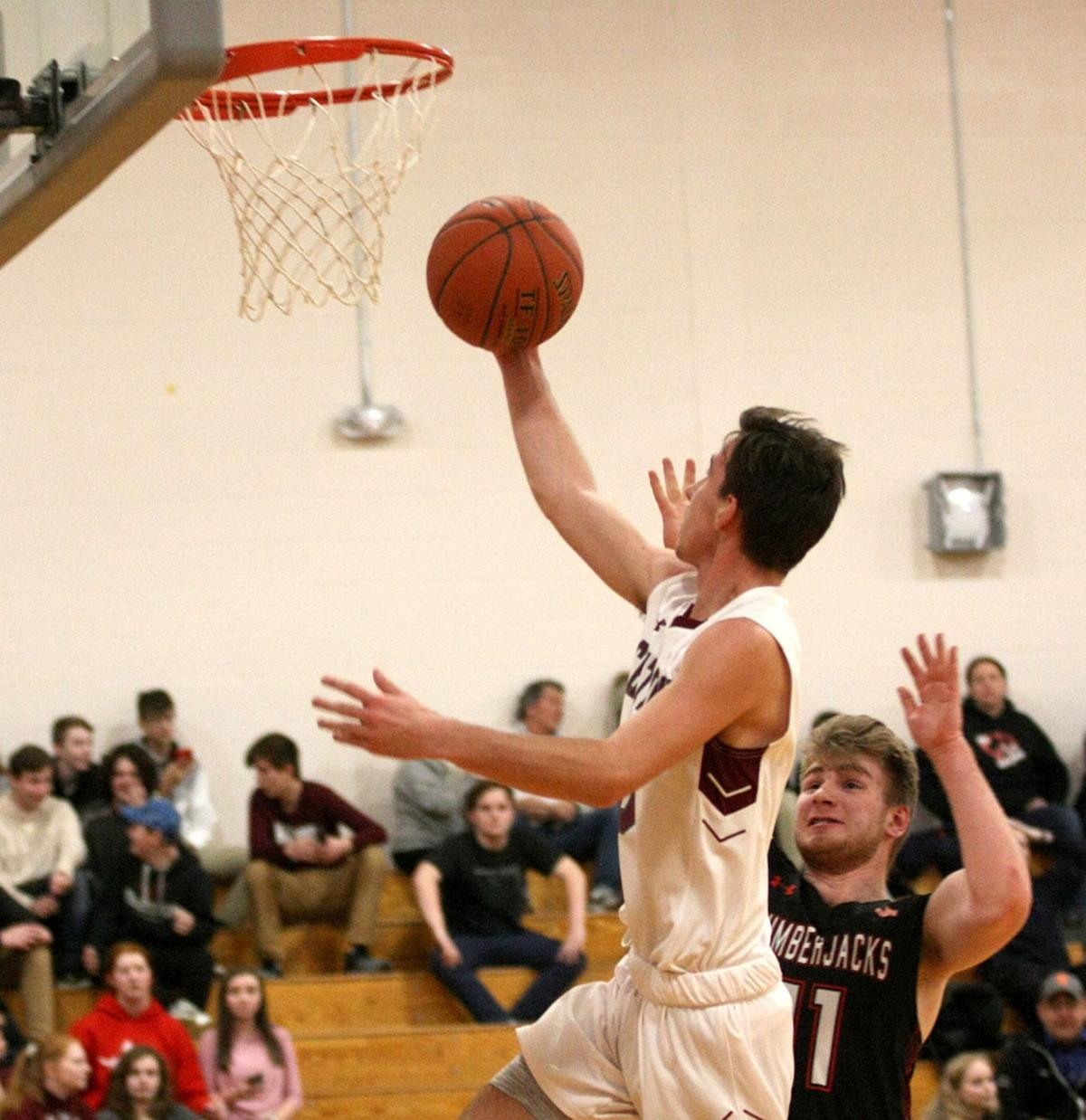 Chateaugay's McDonald sets Section 10 scoring record in victory