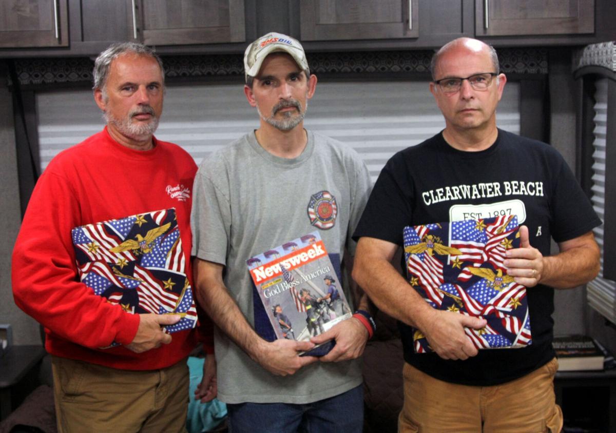 Trombleys recall the 9/11 tragedy