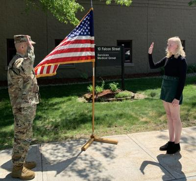 Malone Woman enlists in Vermont Air National Guard