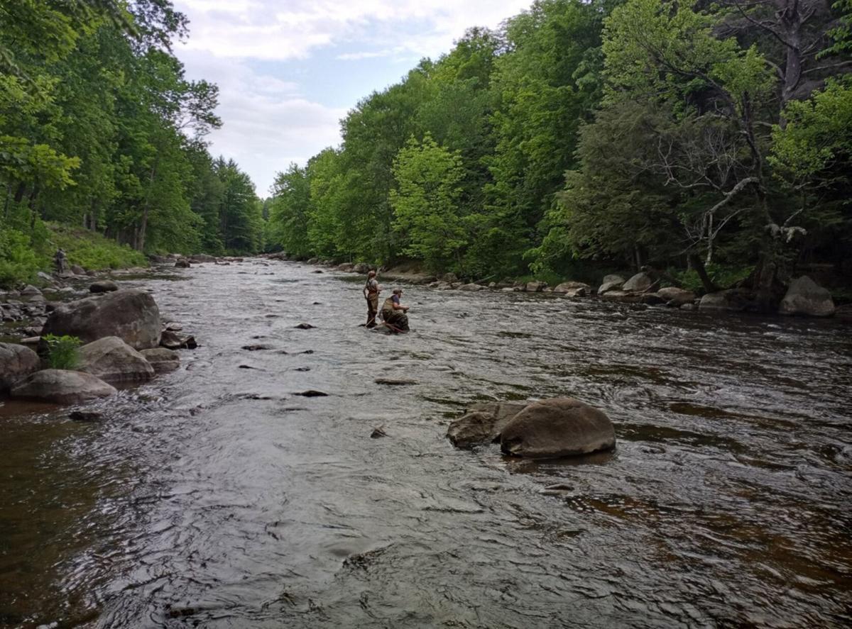 Tourney begins on Salmon River
