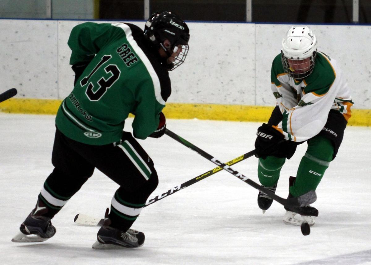 Icemen shut out Shamrocks 2-0