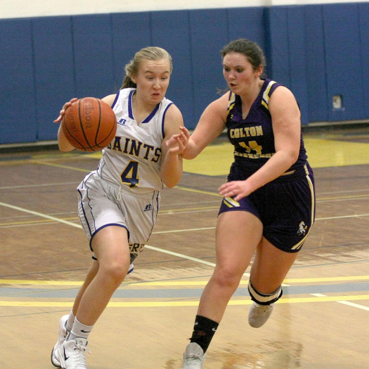 SRF girls rally for home win against C-P Colts