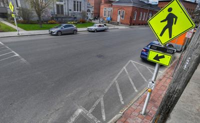 Rapid flashing beacons part of Malone project