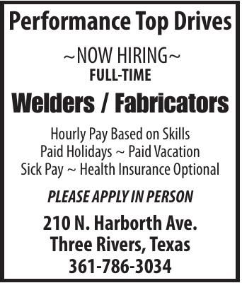 WELDER/FABRICATORS