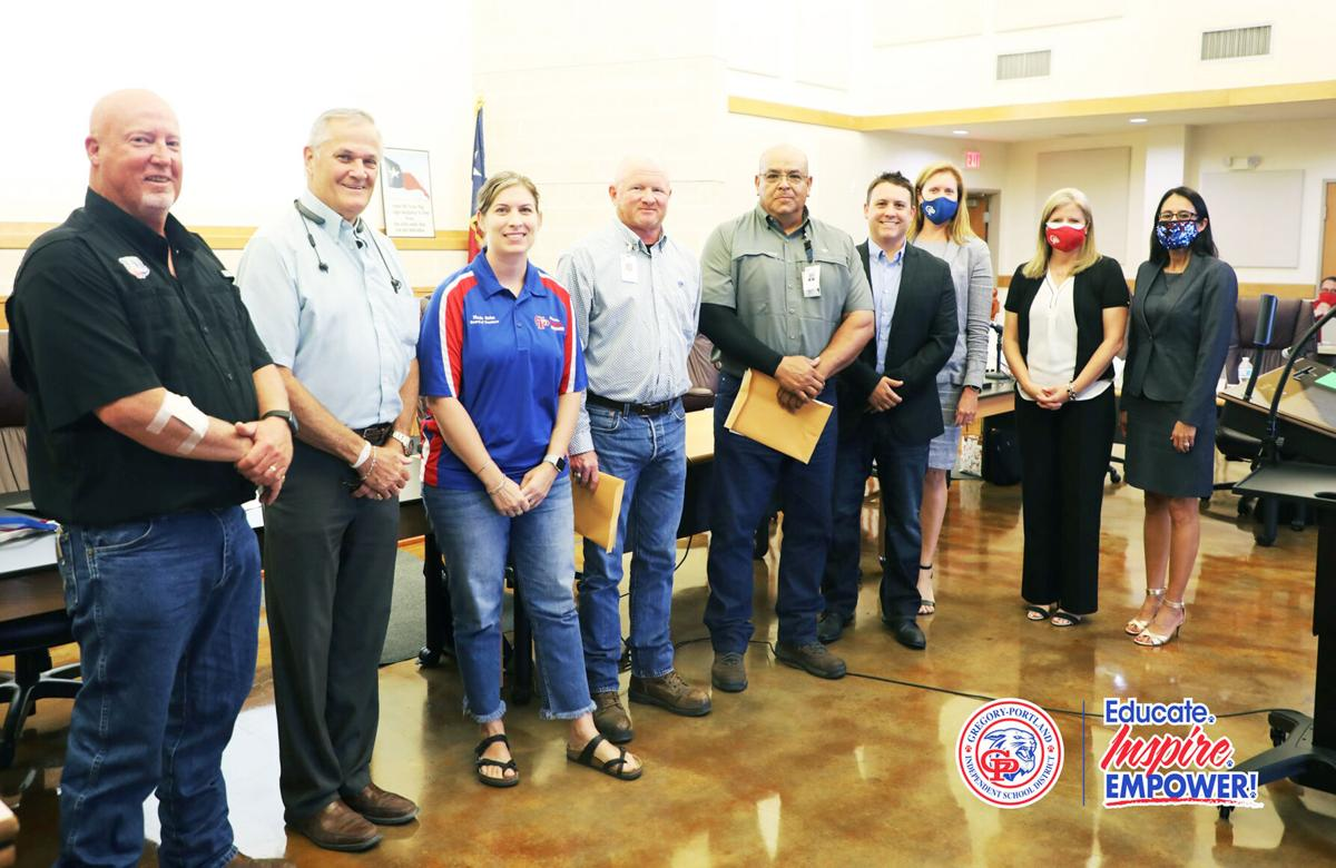 G-PISD recognizes staff for commitment
