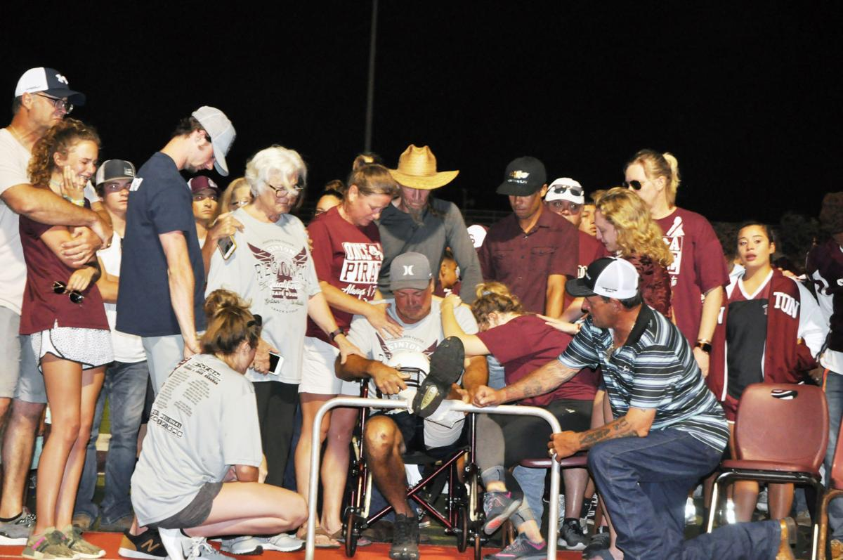 Sinton honors fallen high school student