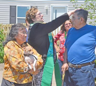 Refugio family gets first manufactured home