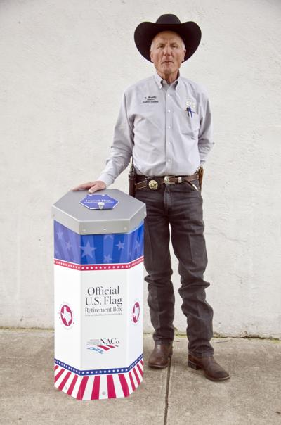 County gets flag drop-off depository