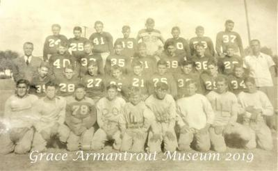 Grace Armantrout Museum needs help to make football time travel possible