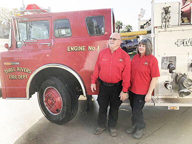 Sharing a gift for local firefighting