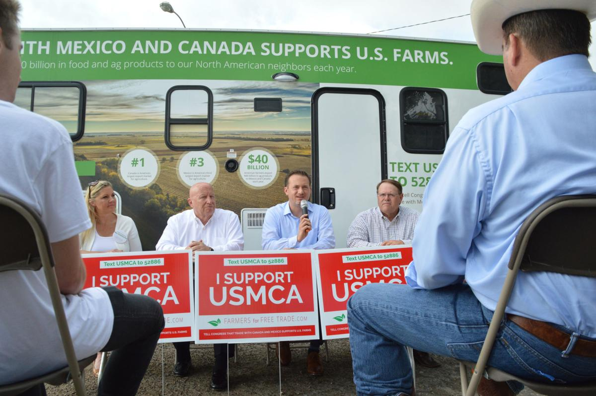 Mexico, Canada free trade motorcade champions new deal for local farmers, but will it happen?