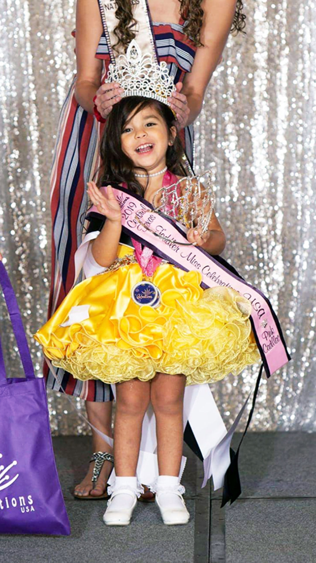 Local 3-year-old makes her way to 2020 Miss Celebrations USA Nationals
