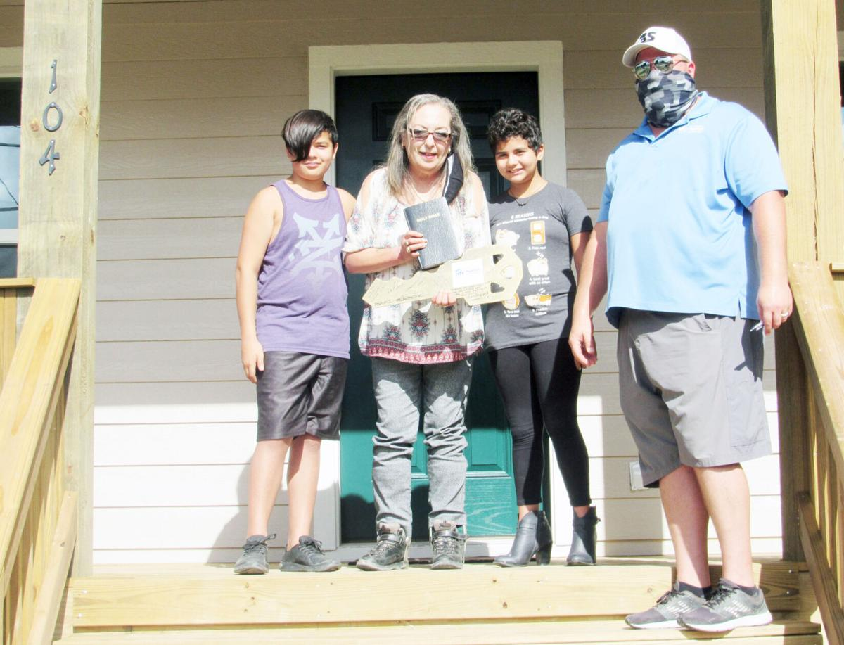 GCHFH completes 30 new homes in Refugio County