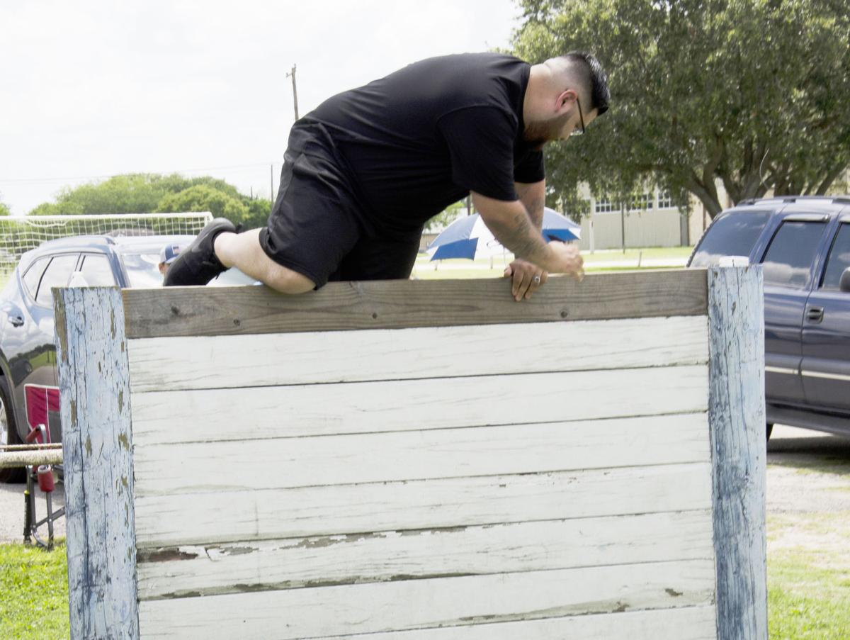 Police applicants put through their paces