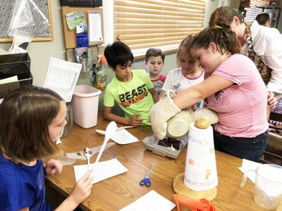 Class teaches kids cooking from around world