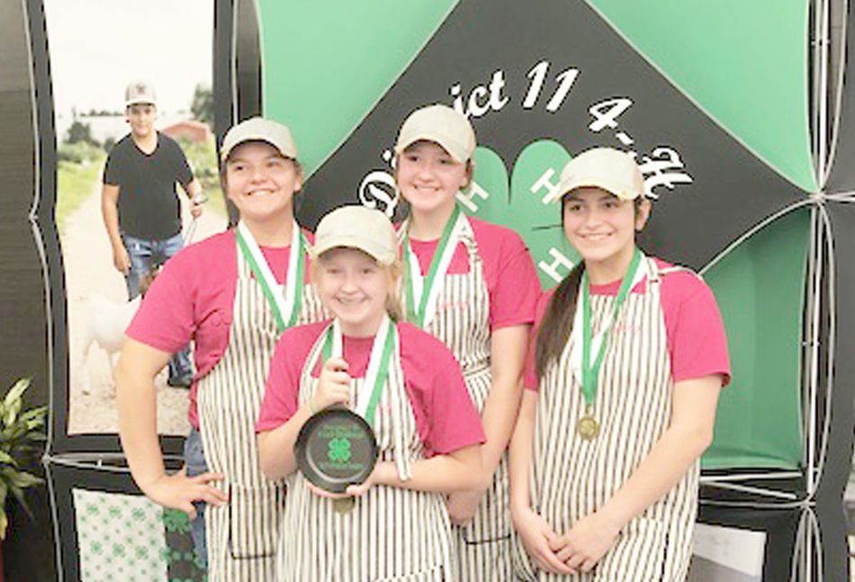 Local 4-H'ers compete in District 11 4-H Food Challenge & Food Show Contest