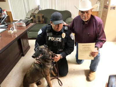 TR's Top Dog: Bato joins Three Rivers police as community's canine officer