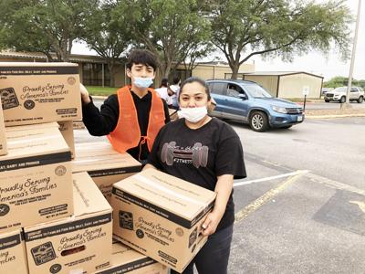 Mobilizing to feed the community