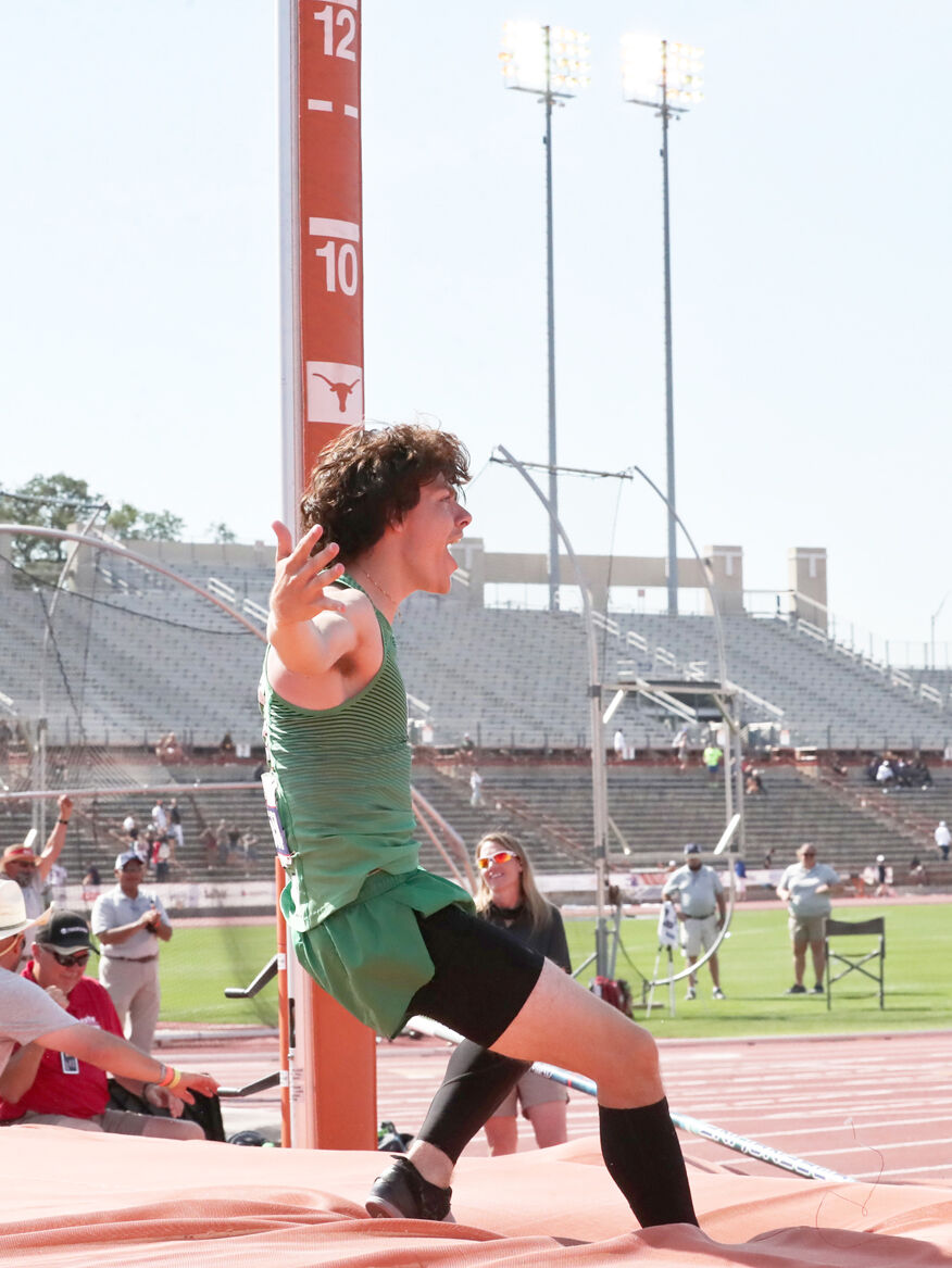 Meacham vaulting into the history books