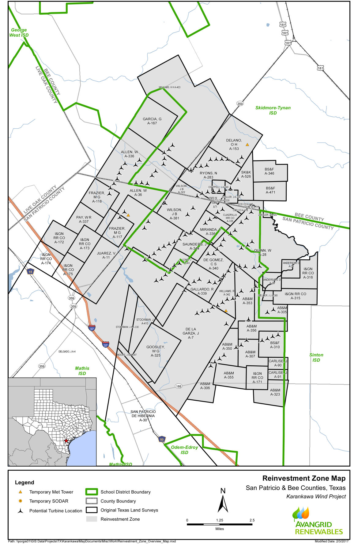 Commissioners pass Mathis, Tynan wind farm rezoning order | Features ...