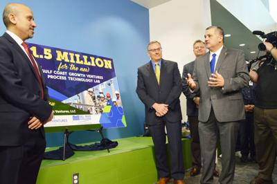 Del Mar College, Gulf Coast Growth Ventures celebrate $1.5 million gift for training, equipment