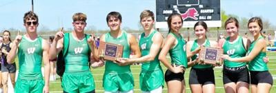 Eagles bring home gold from Kenedy Lion Relays