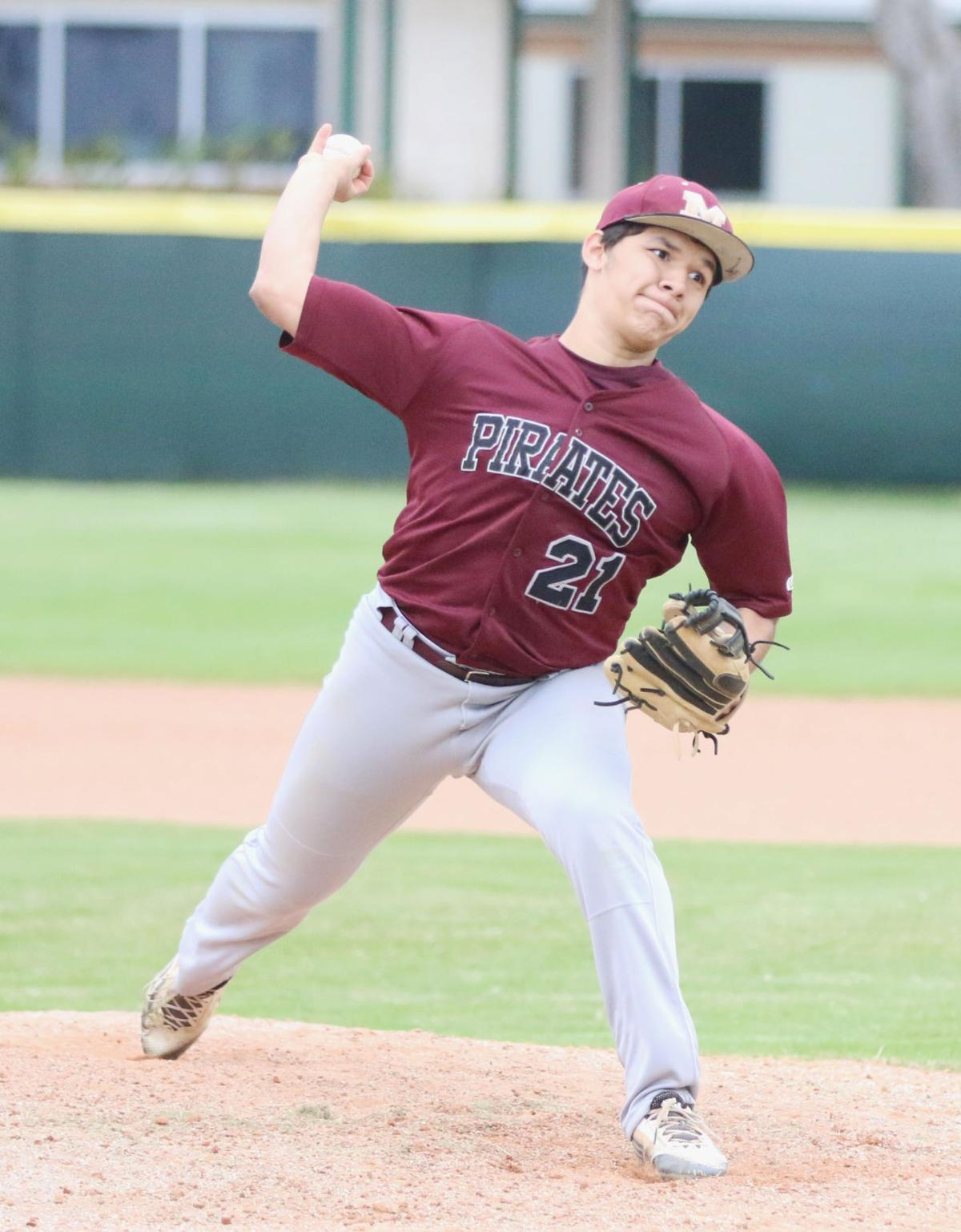 Mathis Pirate baseball lands three all-district spots