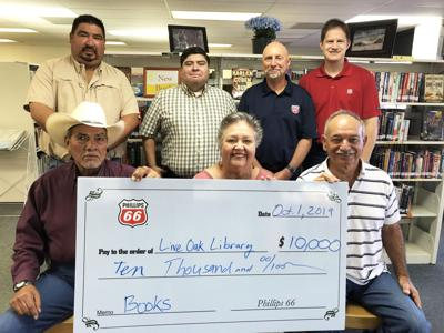 TR library is $10,000 richer: Phillips 66 grant to fund more children's books