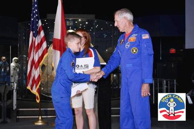 Portland student shoots for stars at Space Camp