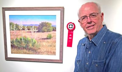Beasley wins second in pastel show