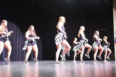 Karnes City HS Highsteppers perform in spring show