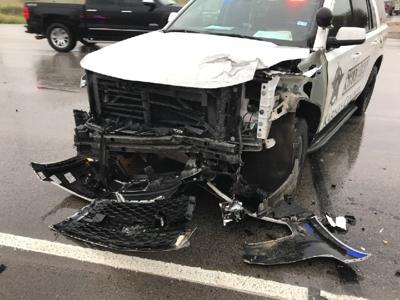 Two Karnes deputies injured after missing head-on colission